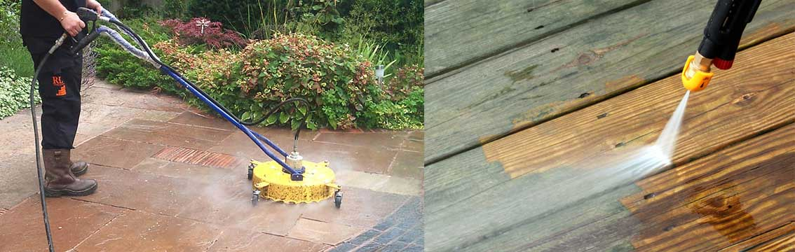 Garden Job Number 5 - Jet Wash the Patio & Decking